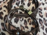 Friendship Bracelets - Chocolate Brown Suede