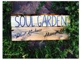 Garden Sign | Soul Garden Plant Kindness Harvest Love