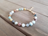 Healing Bracelet - Amazonite - Honour - Communication - Clarity
