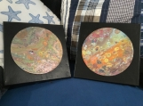 Pair of OOAK Original Artwork  Free Shipping in Canada