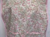 Pink/Green Floral Female Adult Bib