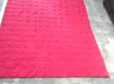Red 15 pound weighted blanket, Sensory, Autism, PTDS