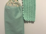 Tea Towel Topper baby green (baby multi colours topper