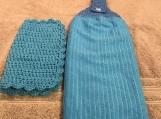Tea Towel Topper blue (blue topper)
