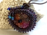 Beaded Urchin Necklace