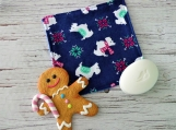 Christmas Dog washcloth