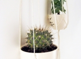 "Set of 2- Minimalist Plant Hanger - 36"" and 43"""