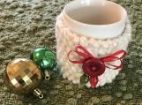 Mug Cozy - Christmas Winter White
