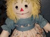 """20""""Classic Raggedy Ann Handmade doll with Yellow hair"""