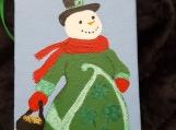 Irish Snowman