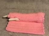Fingerless Gloves (Baby Pink)