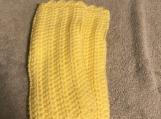 Fingerless Gloves (Baby Yellow)