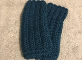 Fingerless Gloves (Dark Teal)