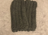 Fingerless Gloves (Dark Grey)