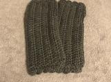 Fingerless Gloves (Dark Grey)