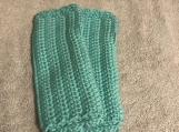 Fingerless Gloves (Light Teal)