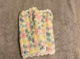 Fingerless Gloves (Multi Baby Colours/White Trim)