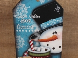 Cocoa Cafe Snowman Sign