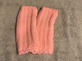 Fingerless Gloves (Baby Pink)