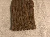 Fingerless Gloves (Dark Beige)