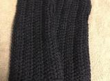Fingerless Gloves (Navy Blue)
