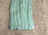 Fingerless Gloves (Pale Blue Green)
