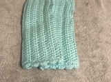 Fingerless Gloves (Pale Blue Green)