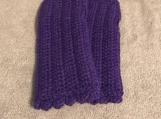Fingerless Gloves (Purple)