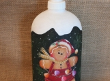 Gingerbread Lotion/Soap Dispenser (Green)