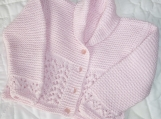 Size 12 months/ 1 year~ Adorable Baby Girl Lace Gramp Cardigan~