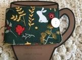 Holiday Mug Cozy Wrap - Green