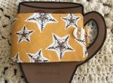 Holiday Mug Cozy Wrap - Stars