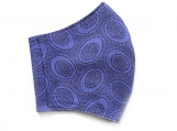 Periwinkle Aboriginal Dot Face Mask