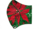 Poinsettia 6 Face Mask