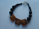 Black Onyx and Tiger Stripes