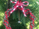 Christmas decoration with jingle bells