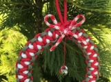 Christmas ornament with jingle bells