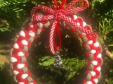 Christmas ornament with large tree charm