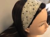 Dog Bones Tie on Headband