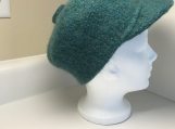 Felted Newsboy Hat