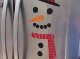 Instant Snowman - magnetic