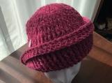 Cloche Hat 1920's Flapper Women's Fashion Crochet Handmade