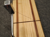 Ash and Hickory Wire Cheese Slicing Cutting Board