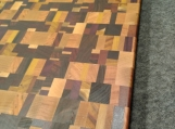 Handmade Chaos Style Cutting Board Multiple Woods