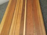 Handmade Cherry, Walnut and Maple Edge Grain Cutting Board Chopping block