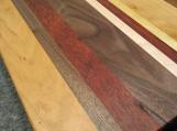 Handmade Face Grain Cutting Board Walnut, Cherry, Padauk, Yellow Heart, Maple