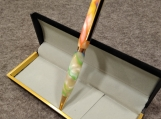 Handmade Multi Color Acrylic Twist Action Refillable Ink Pen