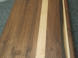 Handmade Walnut and Maple Edge Grain Cutting Boardd