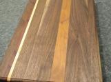 Handmade Walnut, Cherry, Maple and Padauk Edge Grain Cutting Board