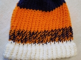 Sports Team Knitted Scarf and Beanie Hat